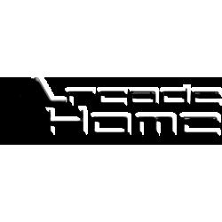 Univerzális fehér PVC végzáró