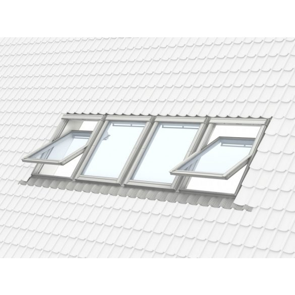 Prémium tetőtéri ablak felső kilinccsel